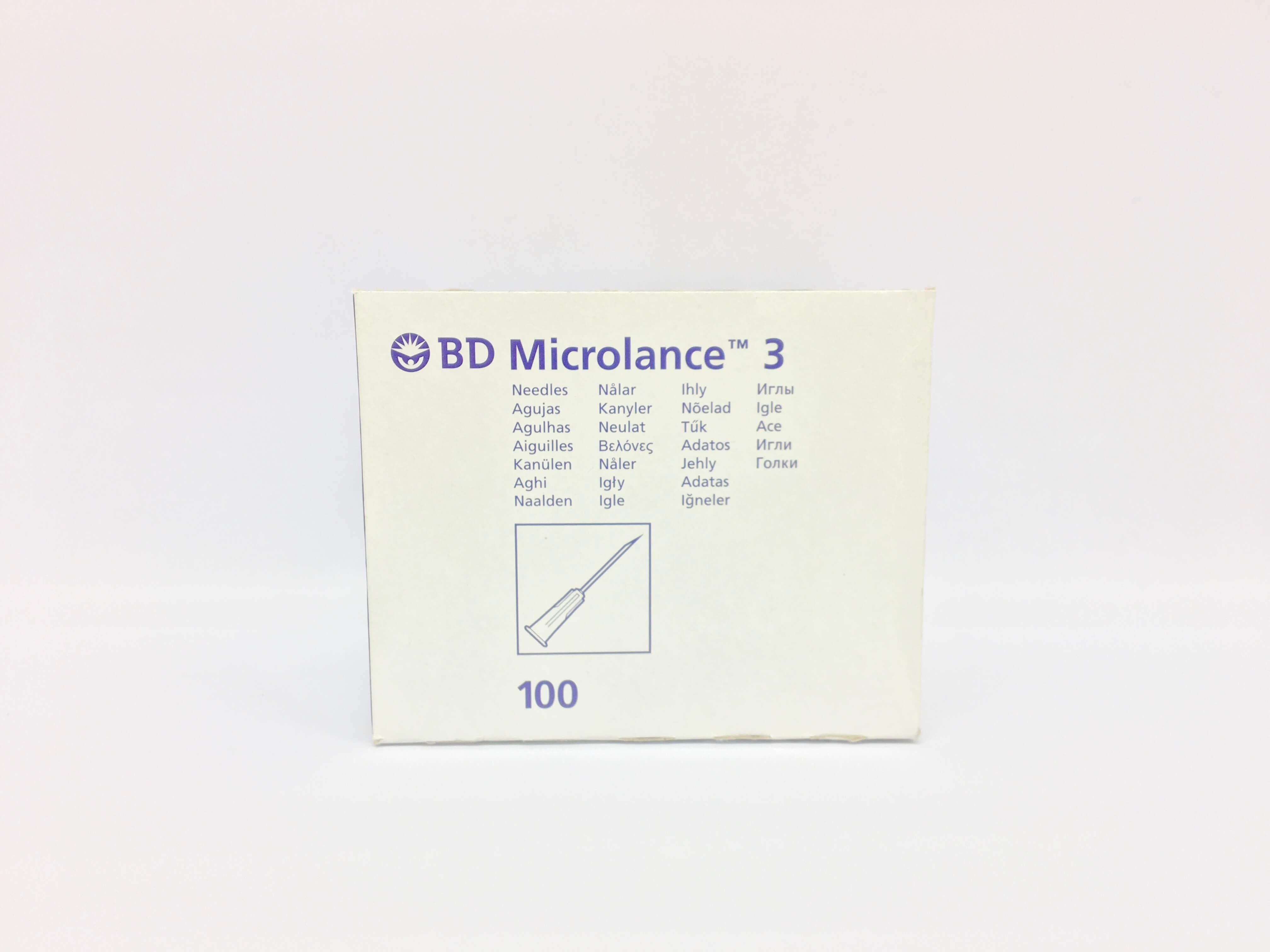 BD Micro Fine 29G 12,7mm 1ml