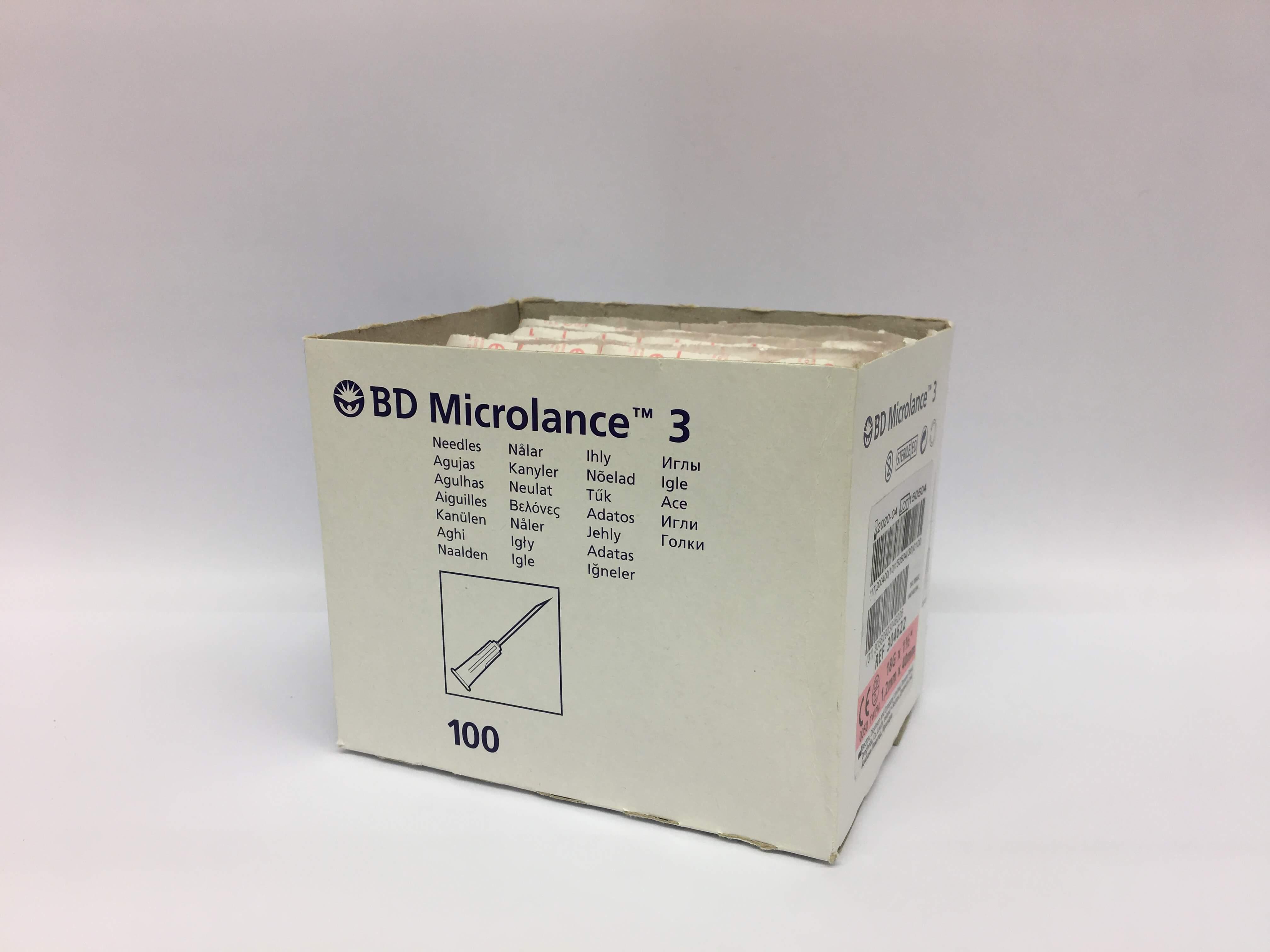BD Microlance 18G 1,2x50mm